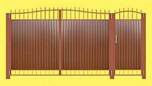 Ворота и калитки №1