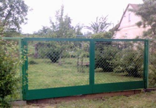 Ворота и калитки №10