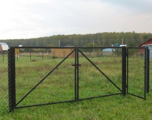 Ворота и калитки №12