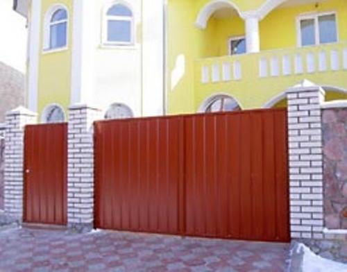 Ворота и калитки №14