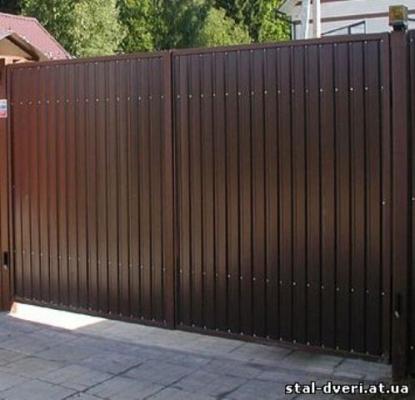 Ворота и калитки №17