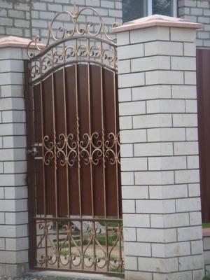 Ворота и калитки №19