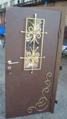 Входные металлические двери №41